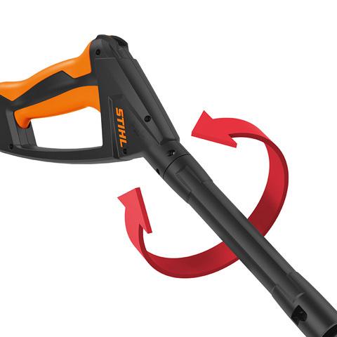 regulowany pistolet ciśnieniowy stihl